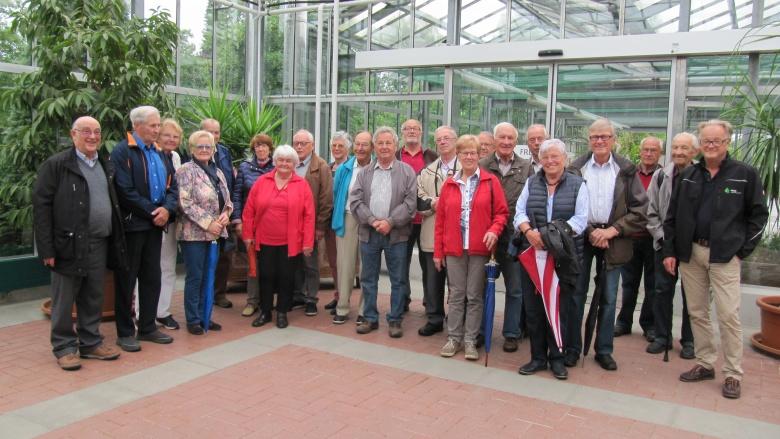 CDU Senioren besuchen Firma Haas GmbH in Roggenzell